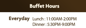 Buffet Hours